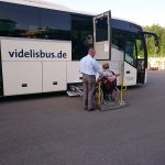 Reisebus für Rollstuhlfahrer