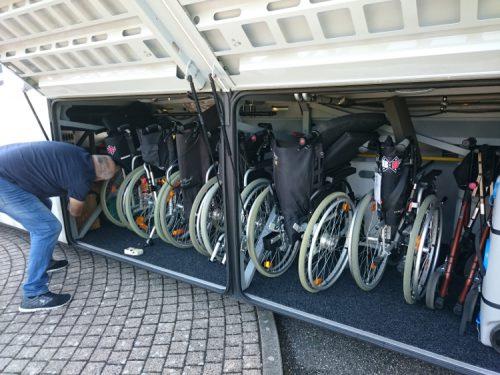 barrierefreier Reisebus für alle